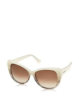 Balenciaga Sonnenbrille BA0016- (57 mm) weiß