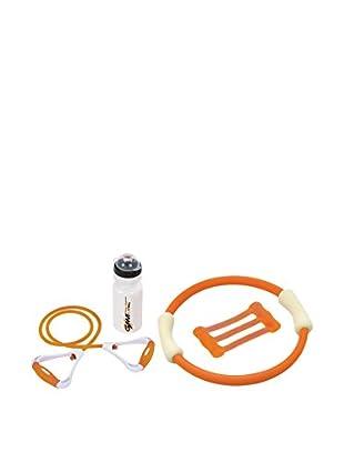 Gymline Set Fitness Woman Aerobic orange/weiß