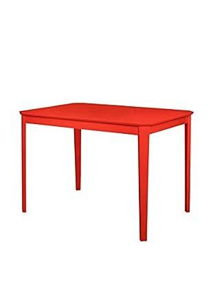 Tisch Kaos rot