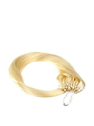 Just Beautiful Hair and Cosmetics 25 Remy Loop Extensions 1 g 50 cm mit Microrings - No. 22 goldblond, 1er Pack (1 x 25 Stück)