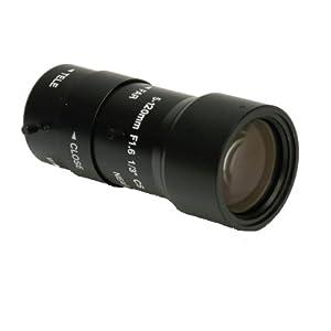 【クリックでお店のこの商品のページへ】防犯カメラ 監視カメラ レンズ CSマウントレンズ 5~120mmバリフォーカルレンズ ZS-5120V