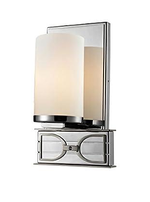 Artistic Lighting Bathbar, Polished Chrome/Brushed Nickel