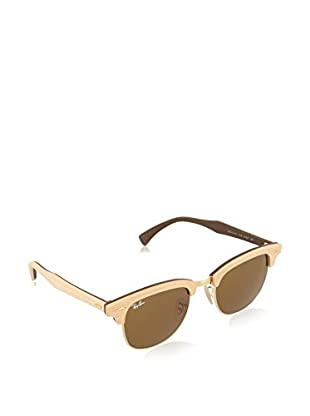 Ray-Ban Sonnenbrille Clubmaster RB3016M 1179 (51 mm) beige