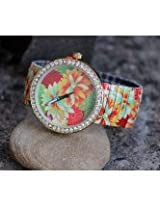 Floral Stretchable Fashion Ladies Watch