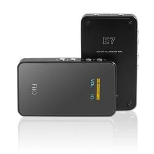 Fiio USB DAC+ポータブルヘッドホン・アンプ Fiio E7