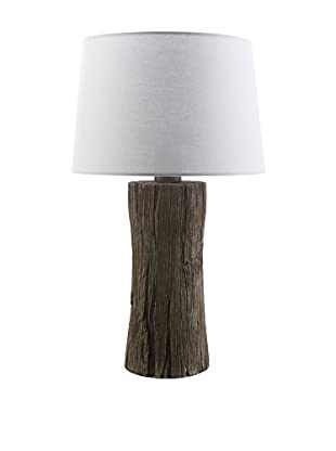 Surya Sycamore Outdoor 1-Light Table Lamp, Faux Wood