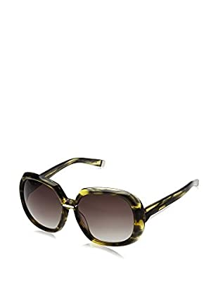 D Squared Sonnenbrille DQ005060 (60 mm) grün/gelb