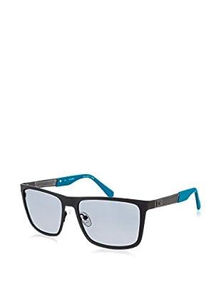 Guess Sunglasses Sonnenbrille 6842 (57 mm) schwarz matt/blau