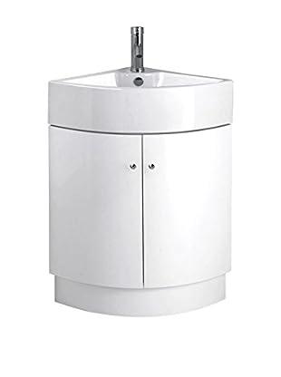 Premier Housewares Badschrank 2403272 weiß