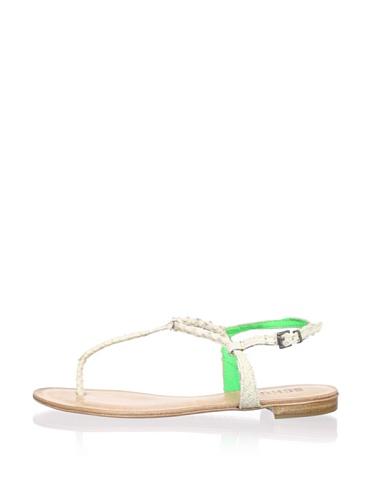 Schutz Women's Skinny Thong Sandal (Verde)