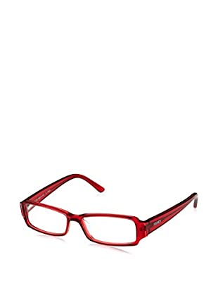 Fendi Montura 850R (51 mm) Rojo