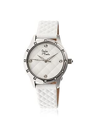 Sophie and Freda Women's SF3206 Lancaster White Leather Watch