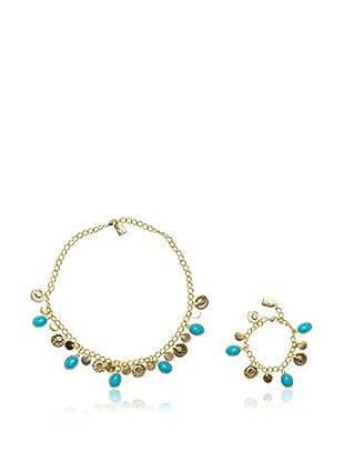Eva López Set collana e braccialetto