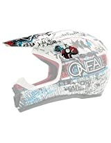 O Neal 5 Series Visor For Youth Acid Helmet - Blue/Red