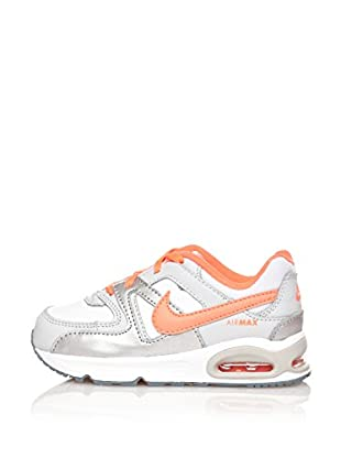Nike Zapatillas Air Max Command (Td) (Plata / Naranja)