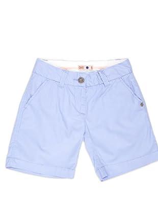 Naf Naf Chevignon Short Sport (azul claro)