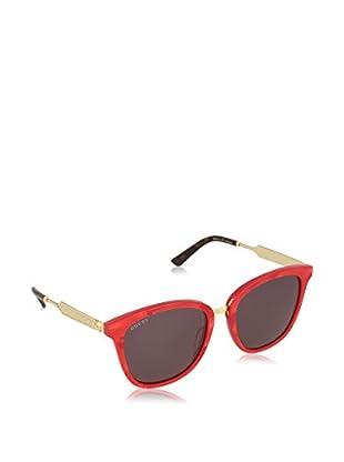 Gucci Gafas de Sol 0073S_004 (55 mm) Rojo / Dorado
