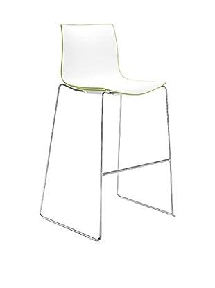 Arper Hocker Catifa 46 0474 weiß/grün