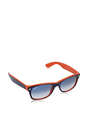 Ray-Ban Sonnenbrille NEW WAYFARER (52 mm) blau/orange
