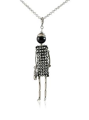MUSAVENTURA Collar  Doll Black 2 Negro