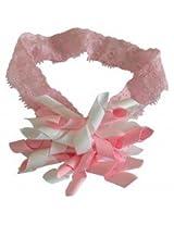 NeedyBee Newborn Headband Pink & White NHA224LP