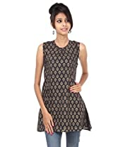 Rajrang Cotton Kurti - PTP00076 (Black)