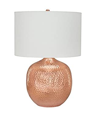 Artistic Lighting Praha Table Lamp, Polished Copper
