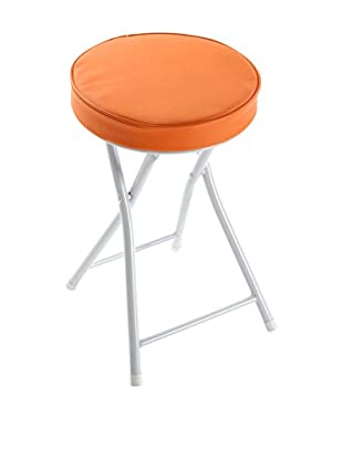 Zings Hocker orange