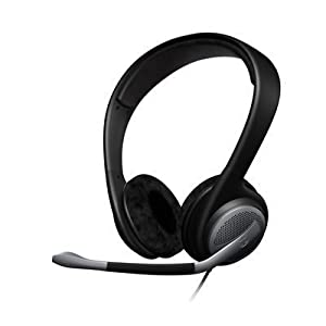 Sennheiser Communications ヘッドバンド型両耳式ゲーミングヘッドセット PC 161 500926