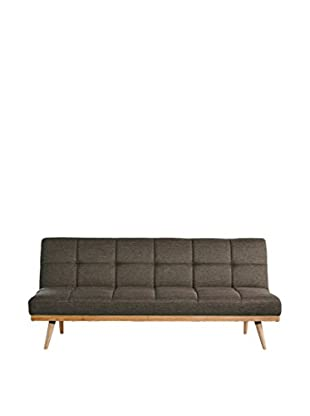 LO+DEMODA Bettsofa Shirley dunkelgrau