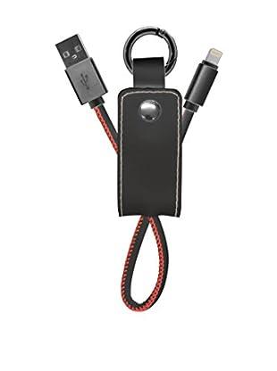 UNOTEC Schlüsselanhänger 8 Pin Style schwarz