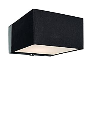 Lirio Lámpara De Pared Lir Quadratus Negro