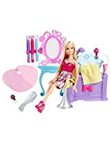 Mattel V4411 Barbie Hairtastic Salon Playset