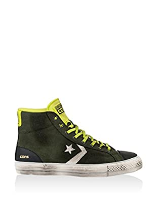 Converse Hightop Sneaker Star Player Hi grün/limette/blau EU 36.5