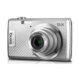 Benq AE220 16 MP Digital Camera with 5X Optical Zoom(Silver)