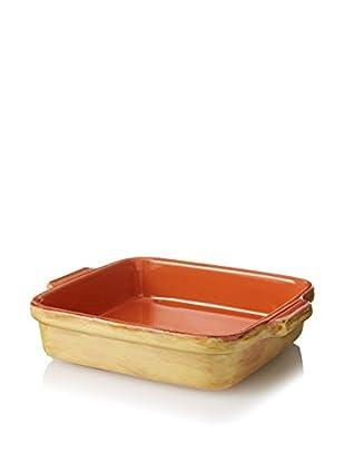COLI Bakeware Italian Stoneware 1-Qt. Classic Square Baking Dish, Saffron