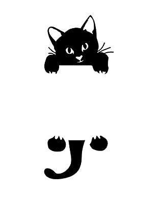 Ambiance Sticker Wandtattoo Cute Catty