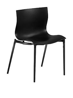 driade Stuhl Cam El Leon schwarz
