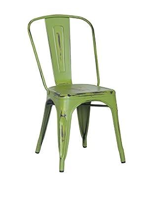 SuperStudio Stuhl 2er Set Antique Terek -Vintage- grün