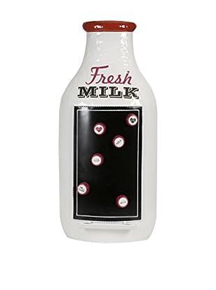 Fresh Milk Message Board, White