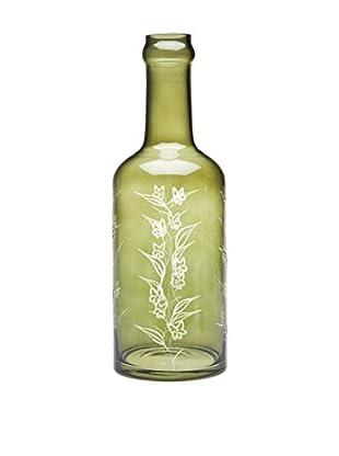 Godinger Floral Wine Bottle, Non Leaded Crystal