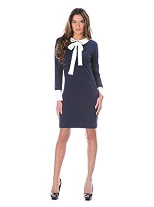 Bleu Marine Kleid Celia