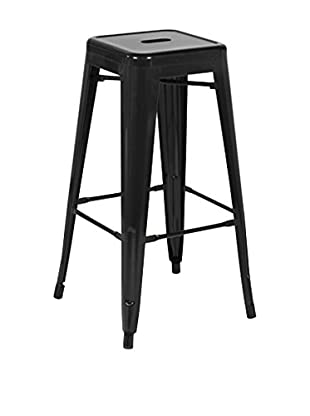 LO+DEMODA Barhocker 2er Set Hight Ural 67 Negro