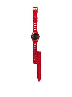 Swatch Reloj de cuarzo Unisex Cranberry Link  34 mm