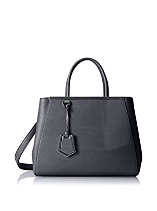 Fendi Women's 2 Jours Tote, Dark Grey