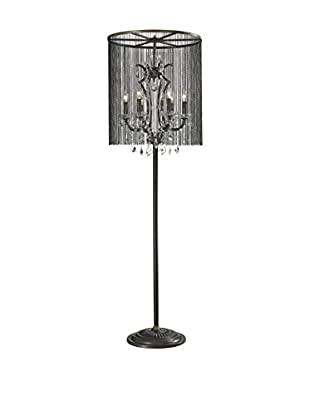 CDI Furniture Vaille Crystal Floor Lamp