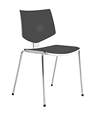 CONTRAST Stuhl 2er Set Loola schwarz