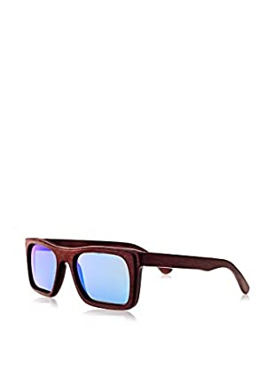 Earth Wood Sunglasses Sonnenbrille Ona (53 mm) rot