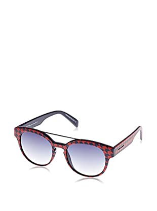 ITALIA INDEPENDENT Sonnenbrille 0900T-PDP B-50 (50 mm) rot/blau