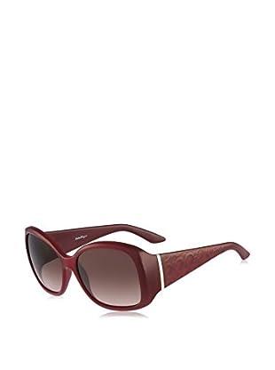 Ferragamo Sonnenbrille 722S_613 (58 mm) dunkelrot